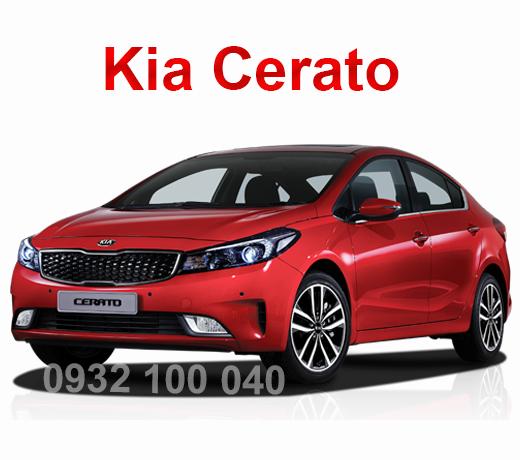 Thuê xe Ô tô tập lái Kia Cerato