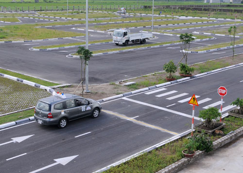Học lái xe ô tô tại quận Bình Thạnh cấp tốc