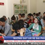 Lớp hoc lý thuyết – Trường dạy lái xe Đại Phúc