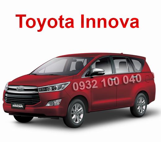 Thuê xe Ô tô tập lái Toyota Innova