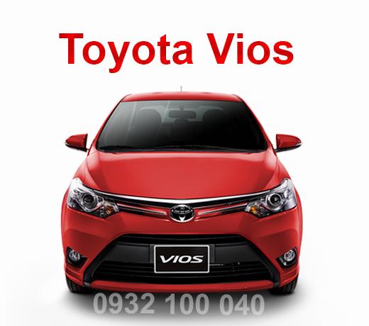 Thuê xe Ô tô tập lái Toyota Vios