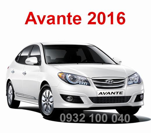 Thuê xe tập lái Avante 2016