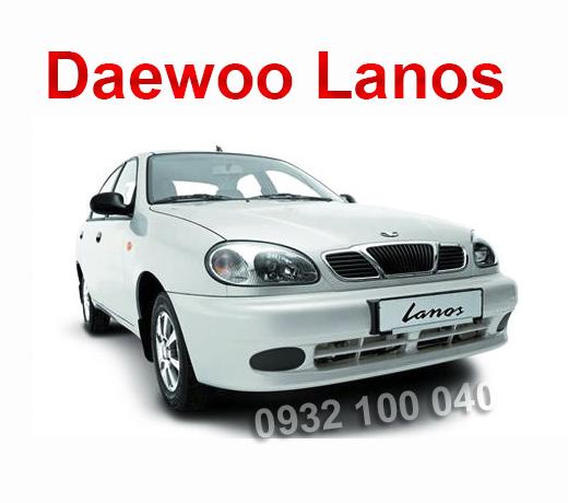 Thuê xe Ô tô tập lái Daewoo Lanos