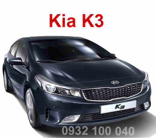 Thuê xe Ô tô tập lái Kia K3