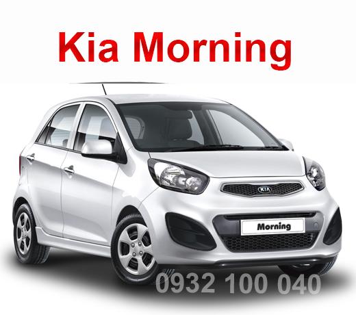 Thuê xe Ô tô tập lái Kia Morning