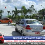 Sân học thực hành – Trường dạy lái xe Đại Phúc