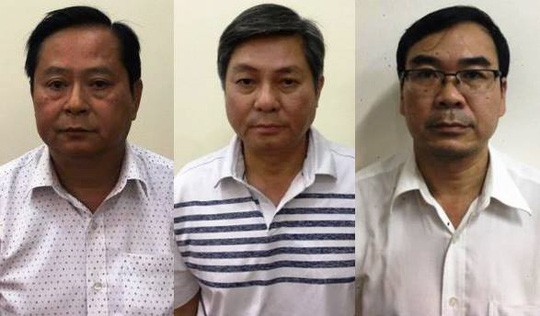 cựu chủ tịch UBND TPHCM bị bắt