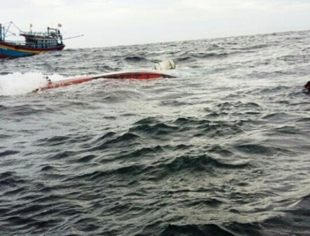 thuyền chìm